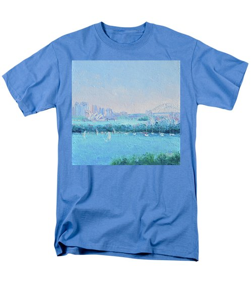 Sydney Harbour And The Opera House Men's T-Shirt  (Regular Fit) by Jan Matson