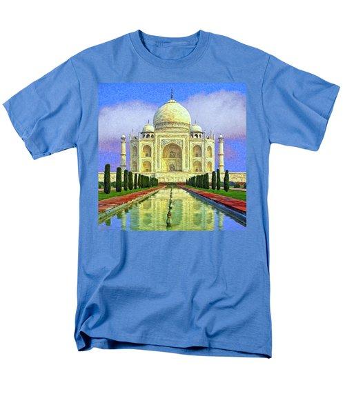 Taj Mahal Morning Men's T-Shirt  (Regular Fit) by Dominic Piperata
