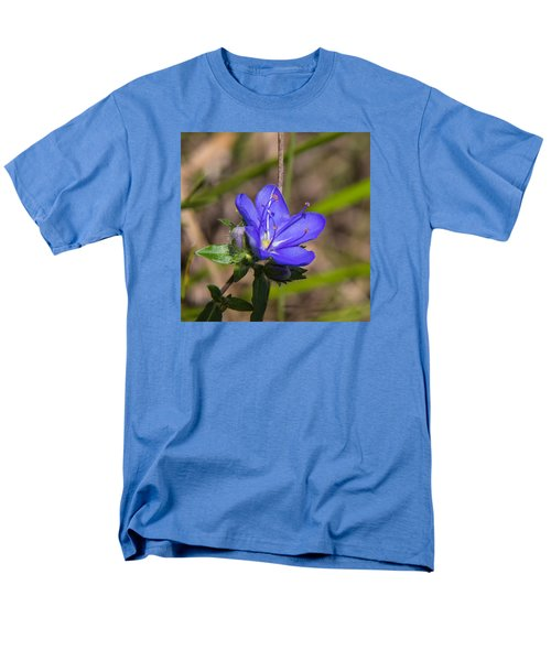 Tall Hydrolea Wildflower Men's T-Shirt  (Regular Fit) by Christopher L Thomley