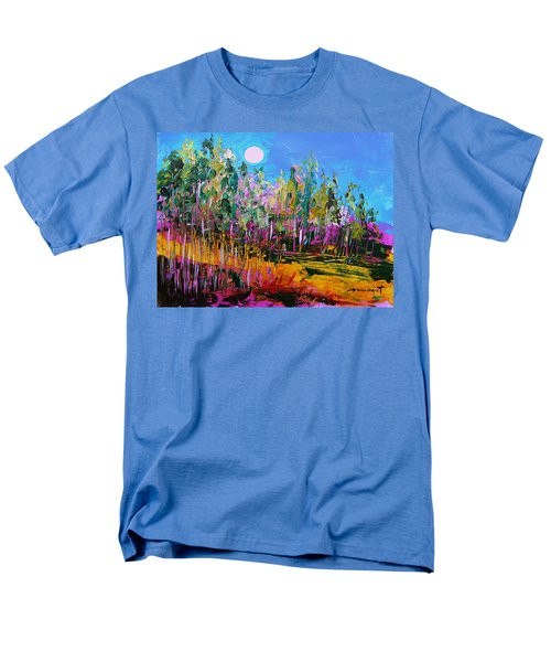 Men's T-Shirt  (Regular Fit) featuring the painting Tall Left And Front by John Williams
