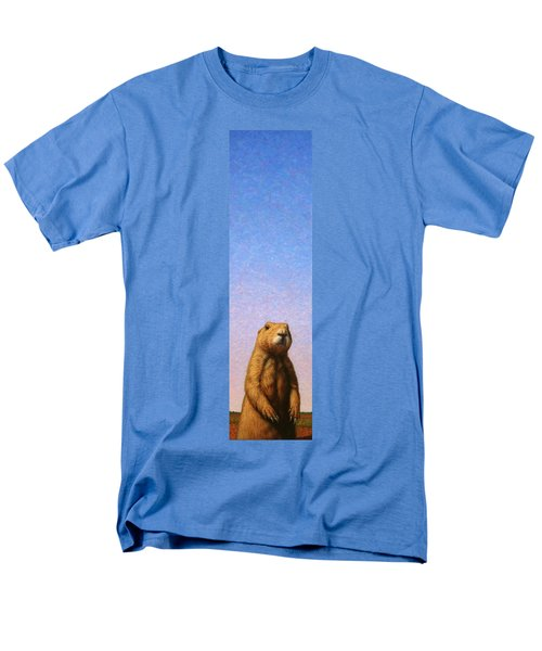 Tall Prairie Dog Men's T-Shirt  (Regular Fit) by James W Johnson