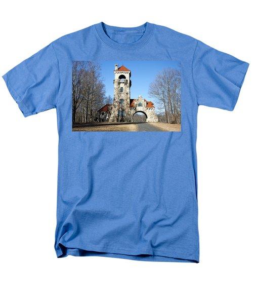 Men's T-Shirt  (Regular Fit) featuring the photograph Testimonial Gateway Tower #1 by Jeff Severson