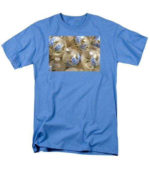 Texas Bluebonnet Ornaments Men's T-Shirt  (Regular Fit) by Betty Denise