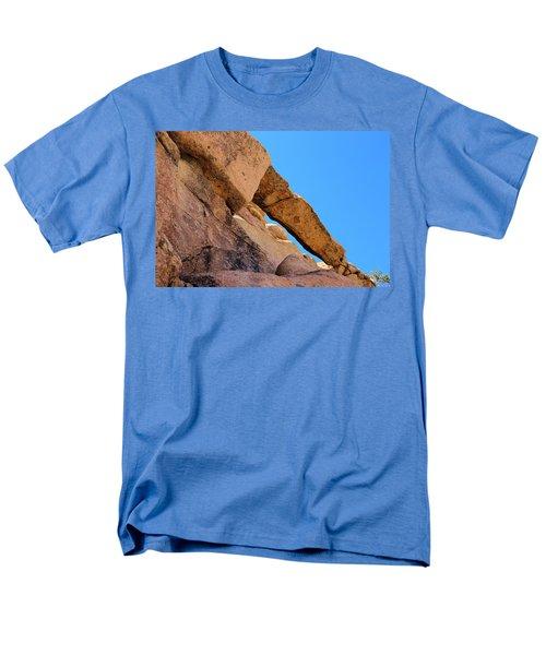 The Arch In Joshua Tree Np Men's T-Shirt  (Regular Fit) by Viktor Savchenko