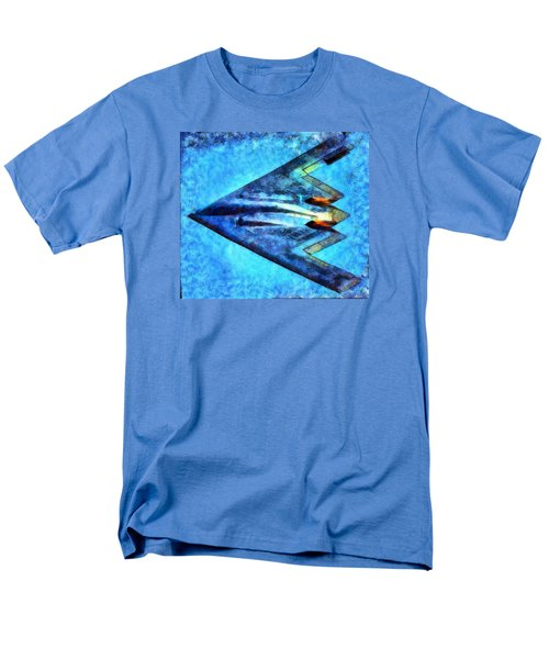 Men's T-Shirt  (Regular Fit) featuring the painting The B-53bomber by Mario Carini