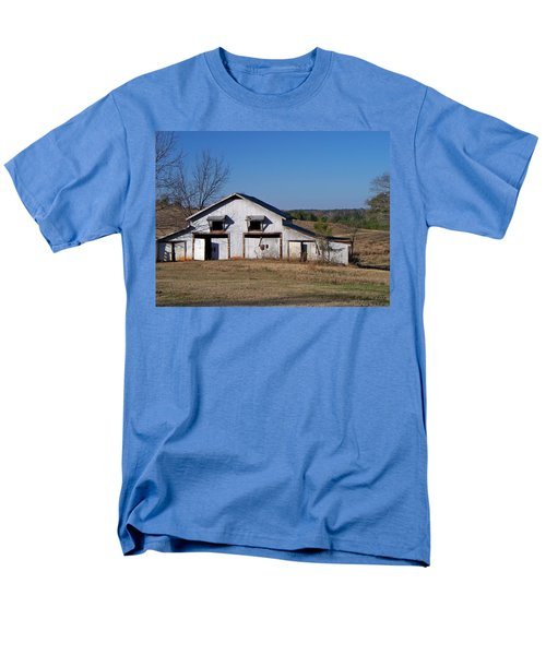 Men's T-Shirt  (Regular Fit) featuring the photograph The Barn by Betty Northcutt