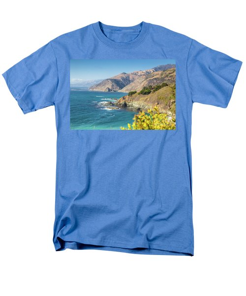 The Beauty Of Big Sur Men's T-Shirt  (Regular Fit) by JR Photography