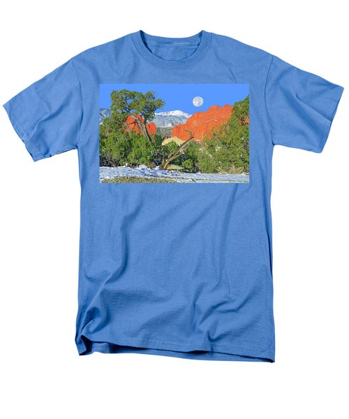 The Beauty That Takes Your Breath Away And Leaves You Speechless. That's Colorado.  Men's T-Shirt  (Regular Fit) by Bijan Pirnia