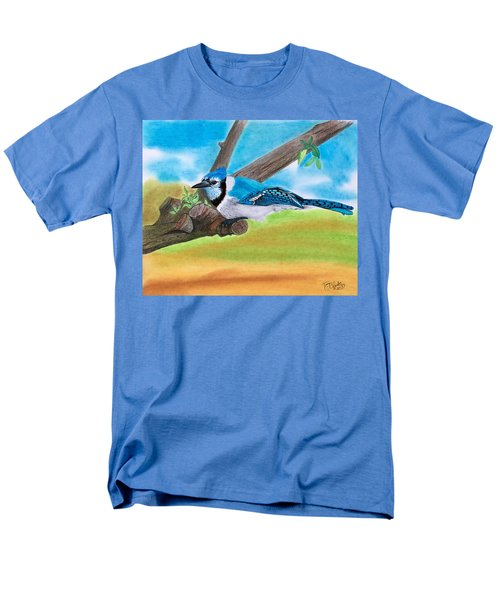 The Blue Jay  Men's T-Shirt  (Regular Fit)