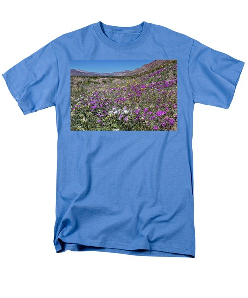 Men's T-Shirt  (Regular Fit) featuring the photograph The Colors Of Spring Super Bloom 2017 by Peter Tellone