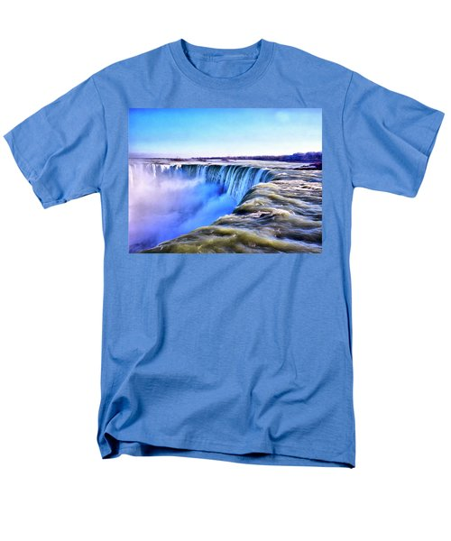 The Edge Of The World Men's T-Shirt  (Regular Fit)