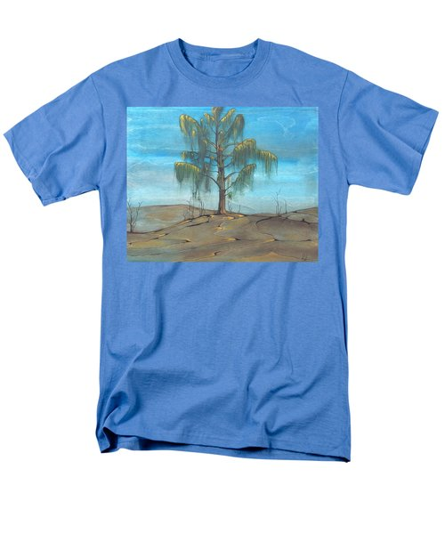 Men's T-Shirt  (Regular Fit) featuring the painting The Feather Tree by Pat Purdy