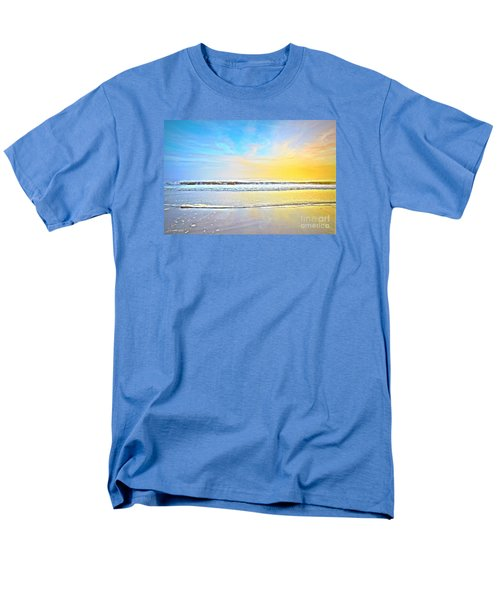 Men's T-Shirt  (Regular Fit) featuring the photograph The Golden Hour by Shelia Kempf