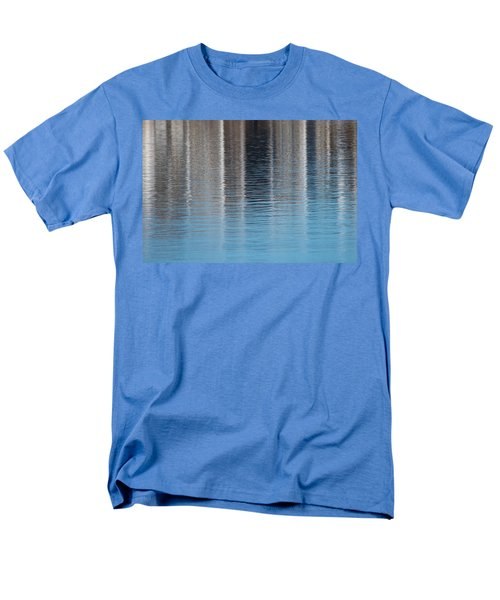 Men's T-Shirt  (Regular Fit) featuring the photograph The Harbor Reflects by Karol Livote