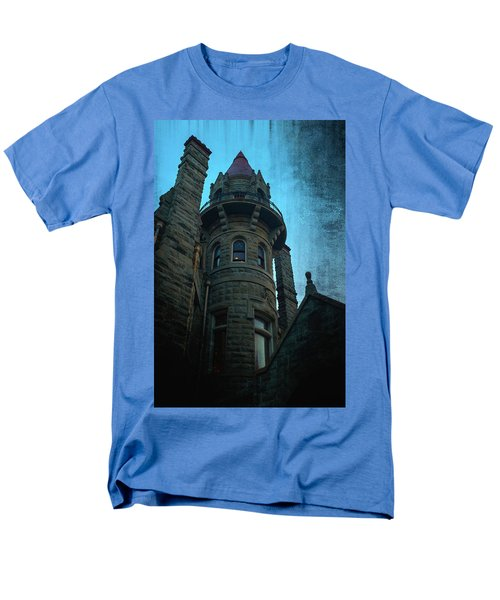 The Haunted Tower Men's T-Shirt  (Regular Fit) by Keith Boone