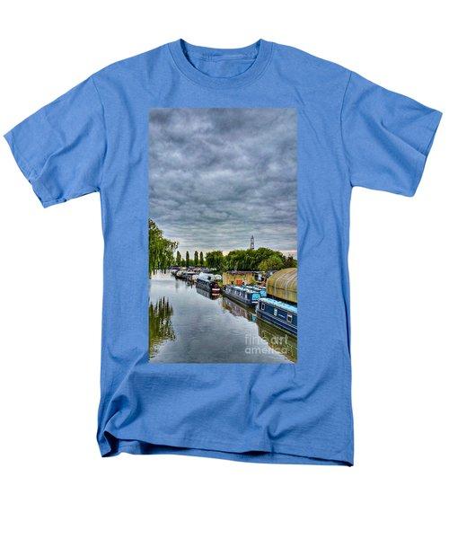 The Marina Men's T-Shirt  (Regular Fit) by Isabella F Abbie Shores FRSA