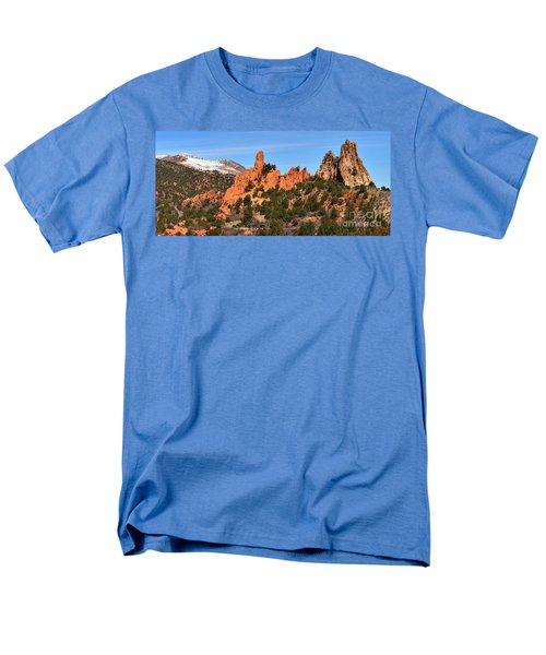 Men's T-Shirt  (Regular Fit) featuring the photograph The High Point View by Adam Jewell