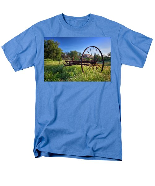 The Old Mower 2 Men's T-Shirt  (Regular Fit) by Endre Balogh