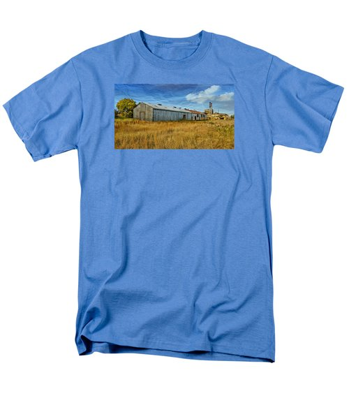 Men's T-Shirt  (Regular Fit) featuring the photograph The Old Peters Factory 01 by Kevin Chippindall