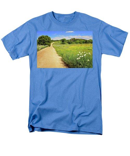 The Road Home Men's T-Shirt  (Regular Fit) by Lynn Bauer