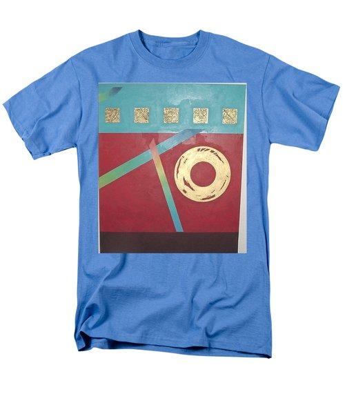 The Square Wheels Of Progress Men's T-Shirt  (Regular Fit) by Bernard Goodman