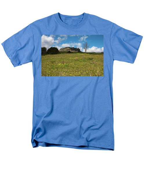 The Three Finger Mountain Men's T-Shirt  (Regular Fit) by Bruno Spagnolo