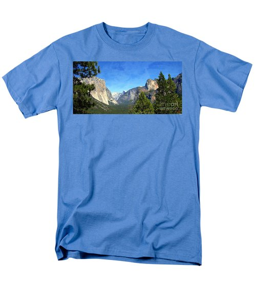 The Valley Of Inspiration-yosemite Men's T-Shirt  (Regular Fit) by Glenn McCarthy Art and Photography