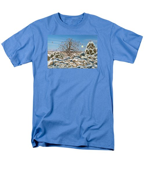 The Waxwing Tree Men's T-Shirt  (Regular Fit) by Dawn Senior-Trask