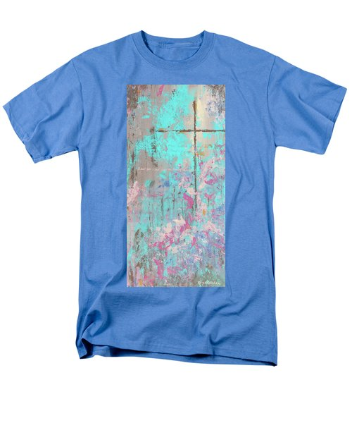 This Side Of The Cross Men's T-Shirt  (Regular Fit) by Karen Kennedy Chatham