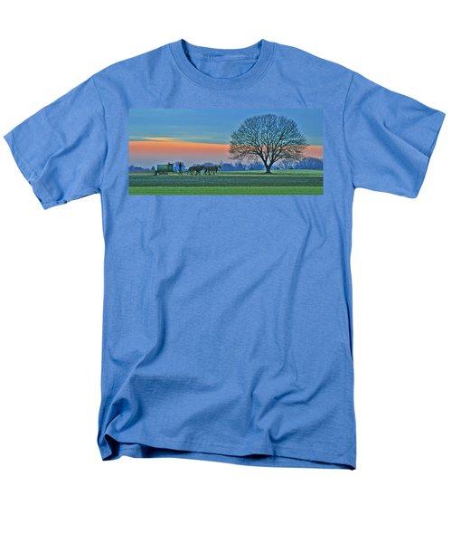 Through The Fields Men's T-Shirt  (Regular Fit) by Scott Mahon