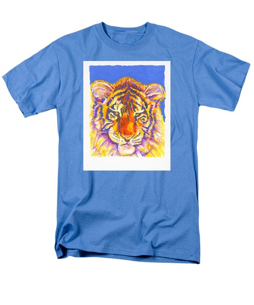 Men's T-Shirt  (Regular Fit) featuring the painting Tiger by Stephen Anderson