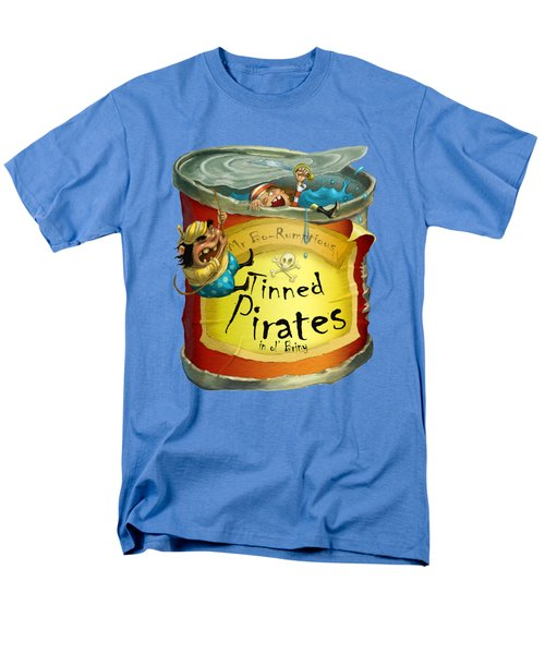 Tinned Pirates Men's T-Shirt  (Regular Fit) by Andy Catling
