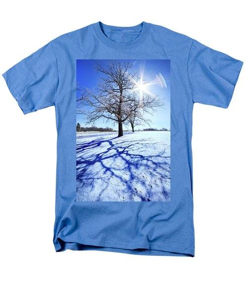 Men's T-Shirt  (Regular Fit) featuring the photograph Tree Light by Phil Koch