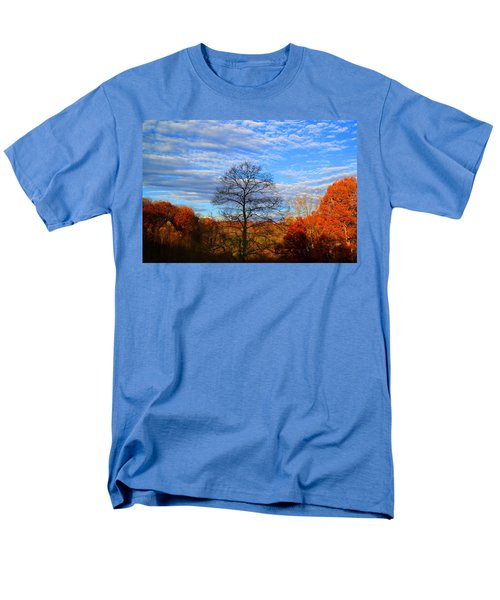 Men's T-Shirt  (Regular Fit) featuring the photograph Treetops Sunrise by Kathryn Meyer