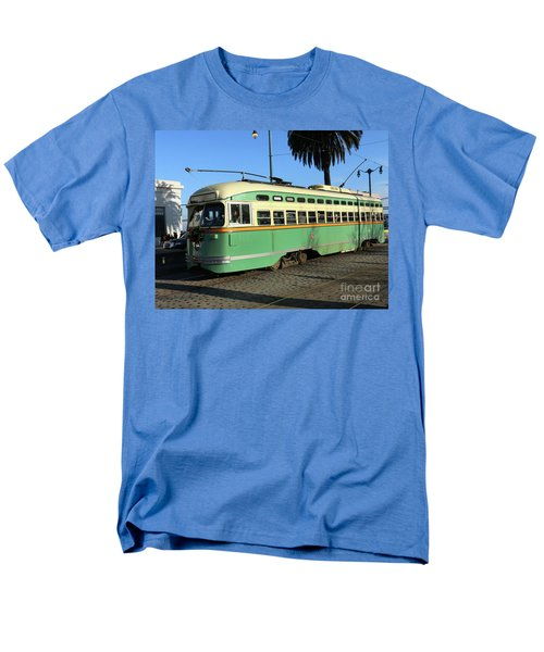 Men's T-Shirt  (Regular Fit) featuring the photograph Trolley Number 1058 by Steven Spak