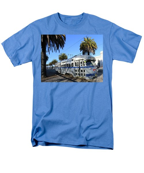 Men's T-Shirt  (Regular Fit) featuring the photograph Trolley Number 1070 by Steven Spak