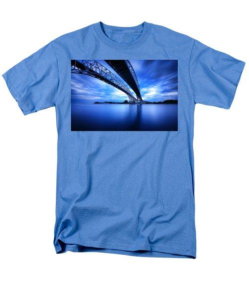 True Blue View Men's T-Shirt  (Regular Fit) by Gordon Dean II