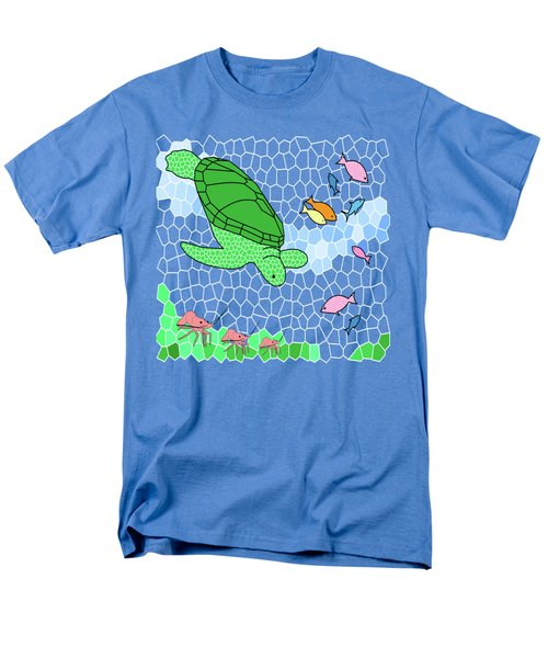 Turtle And Friends Men's T-Shirt  (Regular Fit) by Methune Hively