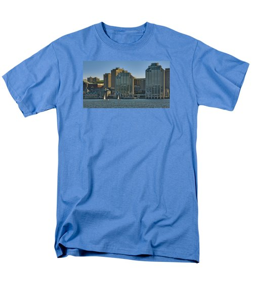 Twin Purdy Towers Of Halifax Men's T-Shirt  (Regular Fit) by Ken Morris