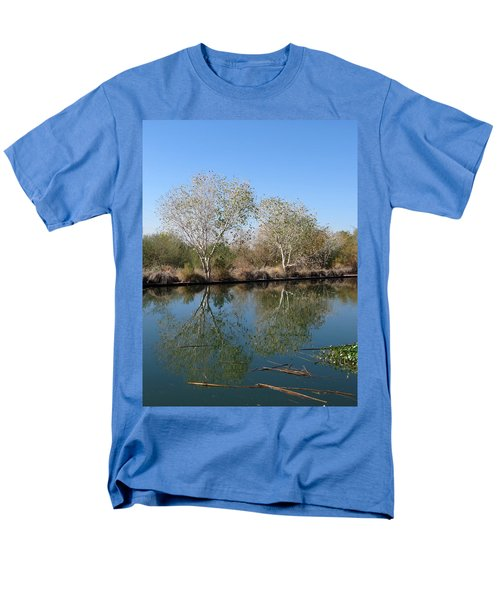 Two Reflected Men's T-Shirt  (Regular Fit) by Laurel Powell