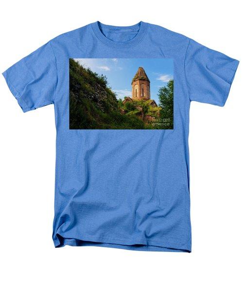 Unique Kirants Monastery On A Sunny Day, Armenia Men's T-Shirt  (Regular Fit) by Gurgen Bakhshetsyan