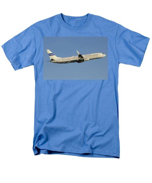 United Boeing 737-924 N75436 Retro Continental Phoenix Sky Harbor December 9 2015 Men's T-Shirt  (Regular Fit) by Brian Lockett