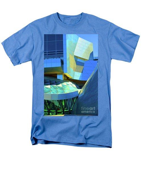 Utzon Center In Aalborg Denmark Men's T-Shirt  (Regular Fit) by Eva Kaufman