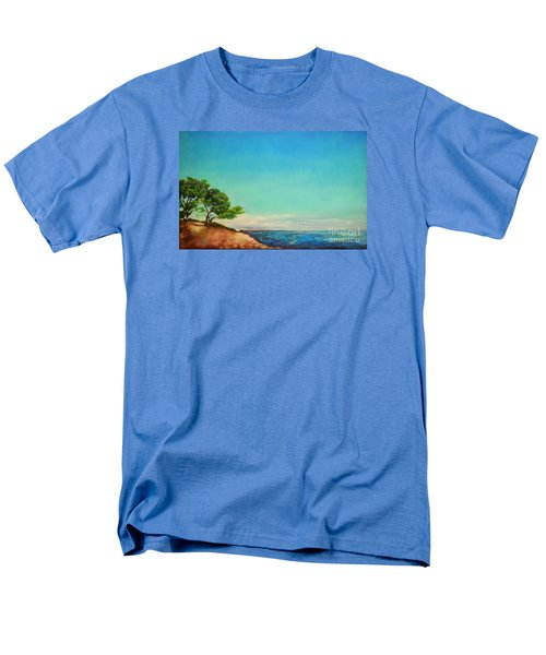 Men's T-Shirt  (Regular Fit) featuring the painting Vacanza Permanente by Maja Sokolowska