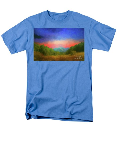 Valley In The Cove Men's T-Shirt  (Regular Fit) by Geraldine DeBoer