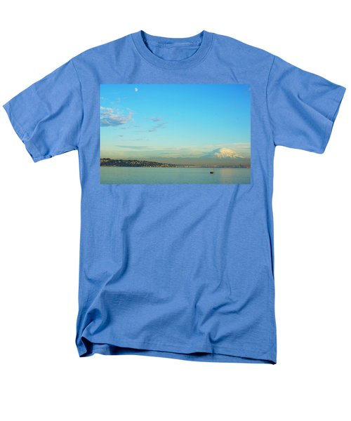 Vashon Island Men's T-Shirt  (Regular Fit) by Angi Parks