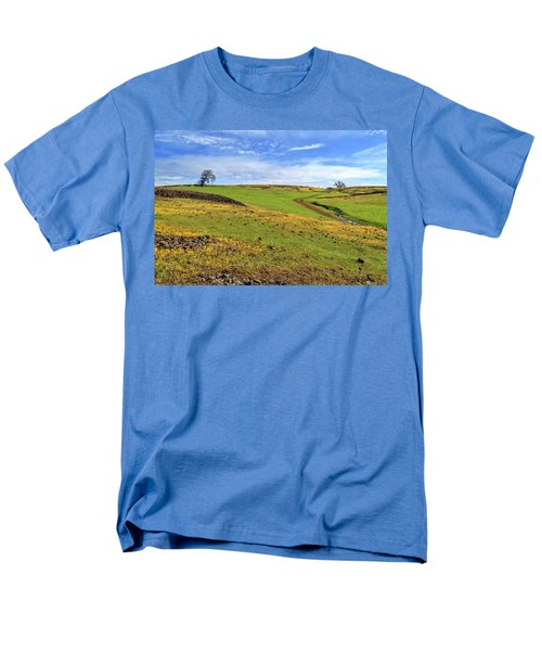 Men's T-Shirt  (Regular Fit) featuring the photograph Volcanic Spring by James Eddy