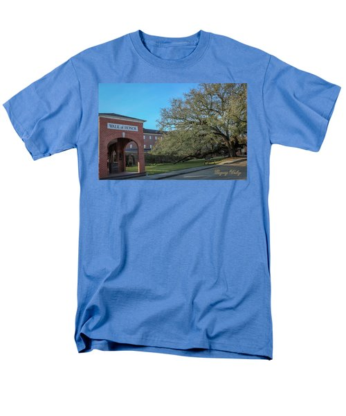Men's T-Shirt  (Regular Fit) featuring the photograph Walk Of Honor Entrance by Gregory Daley  PPSA