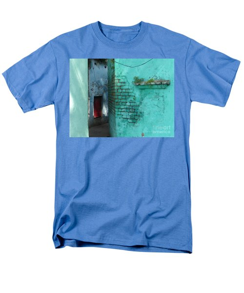 Men's T-Shirt  (Regular Fit) featuring the photograph Walls by Jean luc Comperat