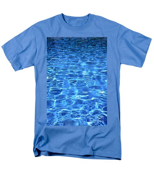 Men's T-Shirt  (Regular Fit) featuring the photograph Water Shadows by Ramona Matei